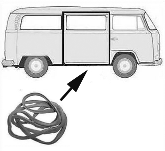 Volkswagen Bus Vanagon Eurovan Sliding Door Parts