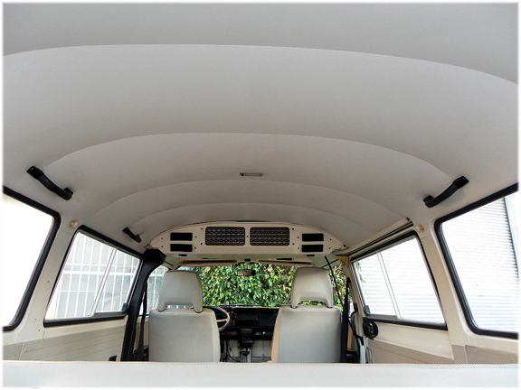 Service manual how to install vw bus headliner 1985 for Space headliner