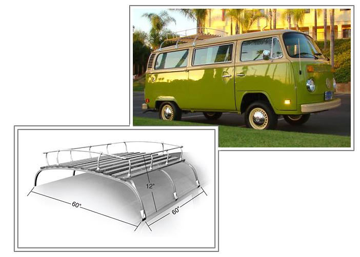 Volkswagen Bus And Vanagon Roof Rack