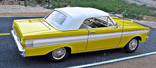 1963 65 Ford Falcon Futura Convertible Tops And Convertible Top Parts