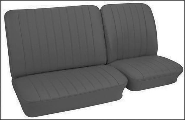 Prime Volkswagen Bus Vanagon Eurovan Seat Covers 1968 73 Front Evergreenethics Interior Chair Design Evergreenethicsorg