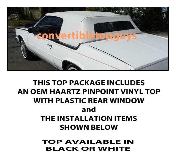 cadillac eldorado convertible top do it yourself pkg 1982 1986 ebay details about cadillac eldorado convertible top do it yourself pkg 1982 1986