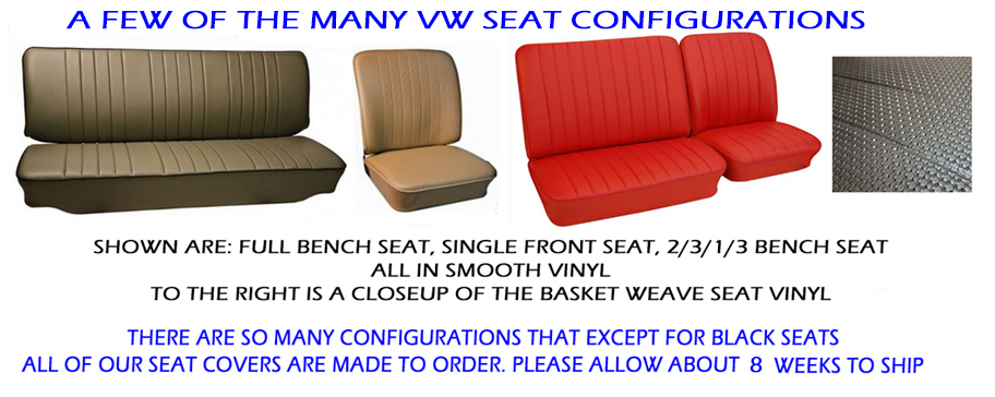 Sensational Volkswagen Bus Vanagon Eurovan Seat Covers 1963 67 Front Evergreenethics Interior Chair Design Evergreenethicsorg