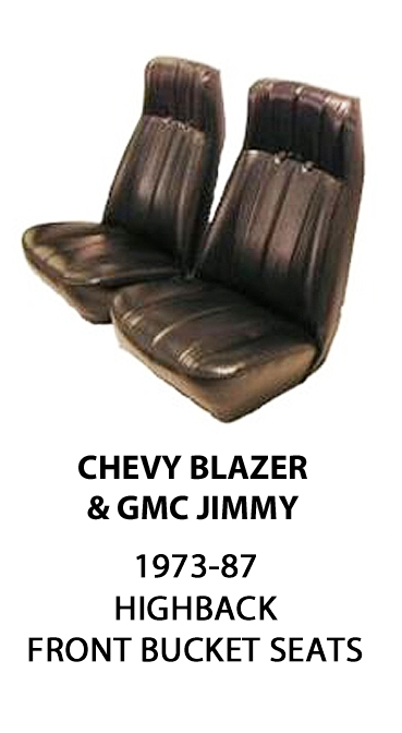 Chevrolet Blazer Amp Gmc Jimmy Factory Replacement Front