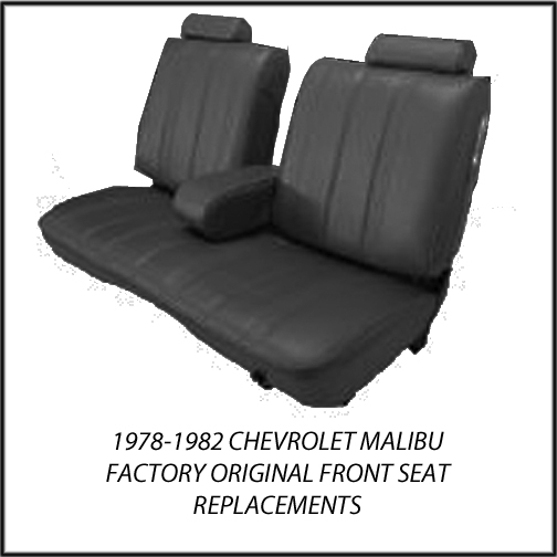 1978 1982 chevrolet malibu factory replacement seat covers ebay. Black Bedroom Furniture Sets. Home Design Ideas