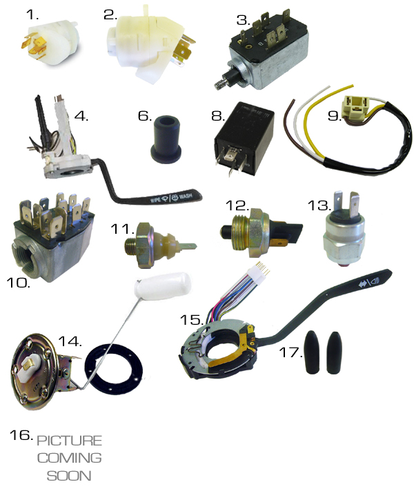 electricalparts volkswagen thing electrical parts & wiring harnesses wiring harness parts at virtualis.co