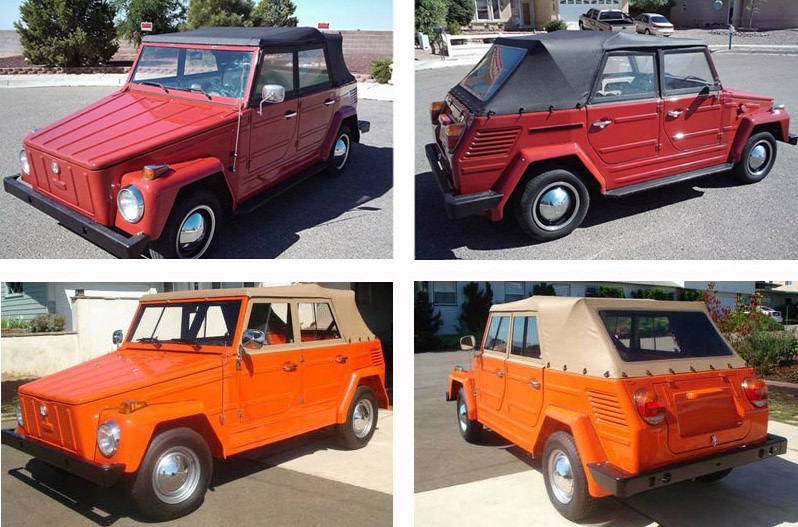 Volkswagen Thing Convertible Top And Accessories