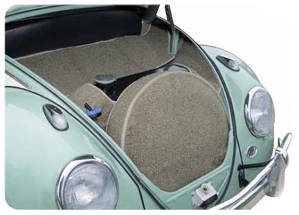 Volkswagen Beetle Carpets For Trunk