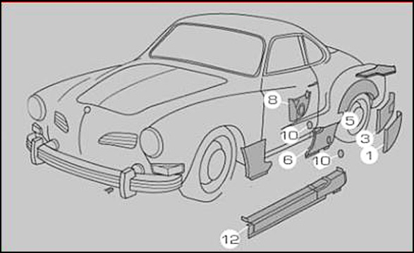 karmann ghia fuse box